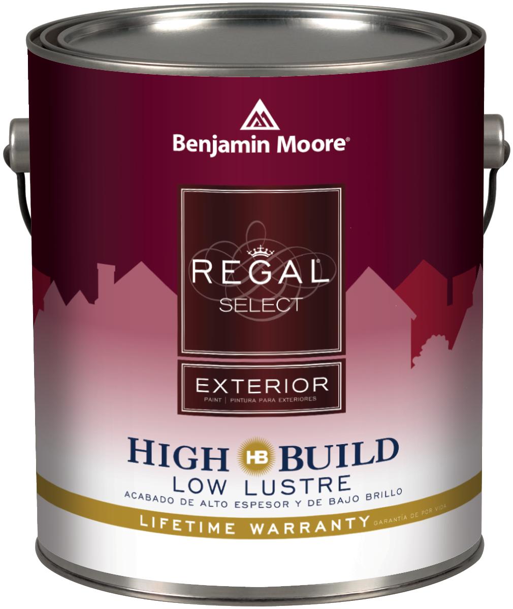 Benjamin Moore Regal Select Exterior High Build Flat Finish 400 Thybony Paint Supplies