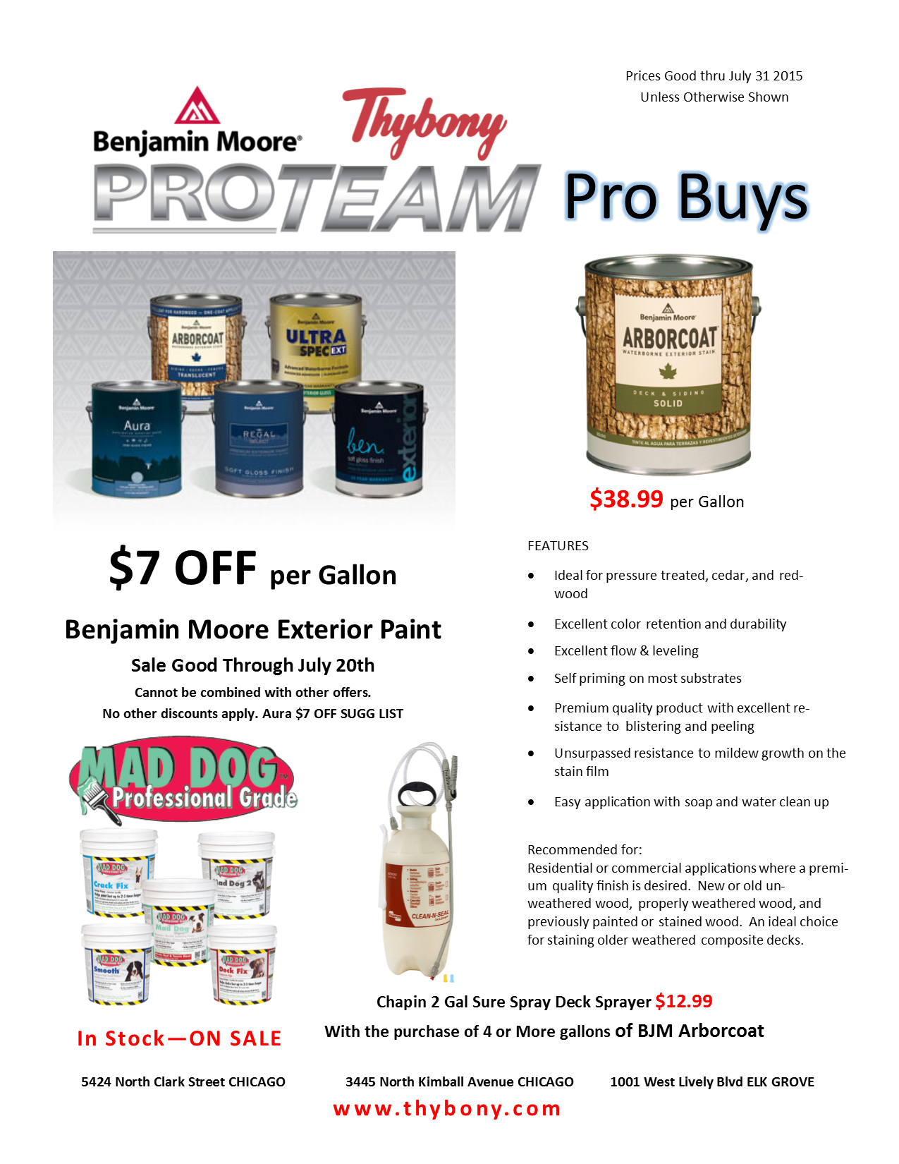ProTeam Pro Buys JULY 2015 HQ1