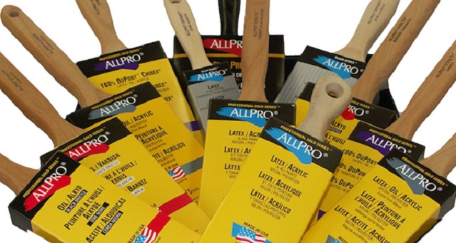 AllPro Paint Brushes