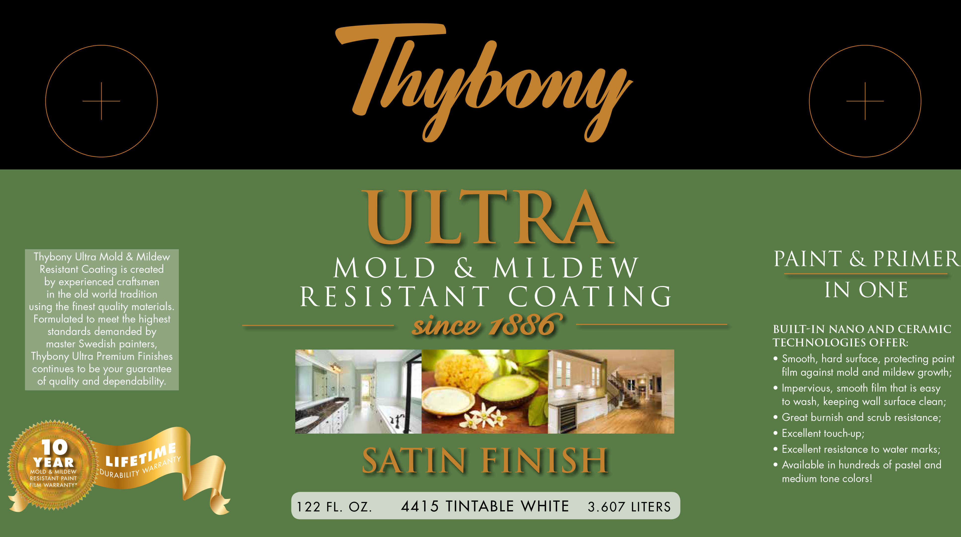 Thybony Ultra Mold Mildew Resistant Coating