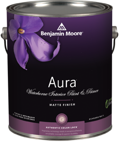 benjamin moore aura waterborne interior paint thybony paint. Black Bedroom Furniture Sets. Home Design Ideas