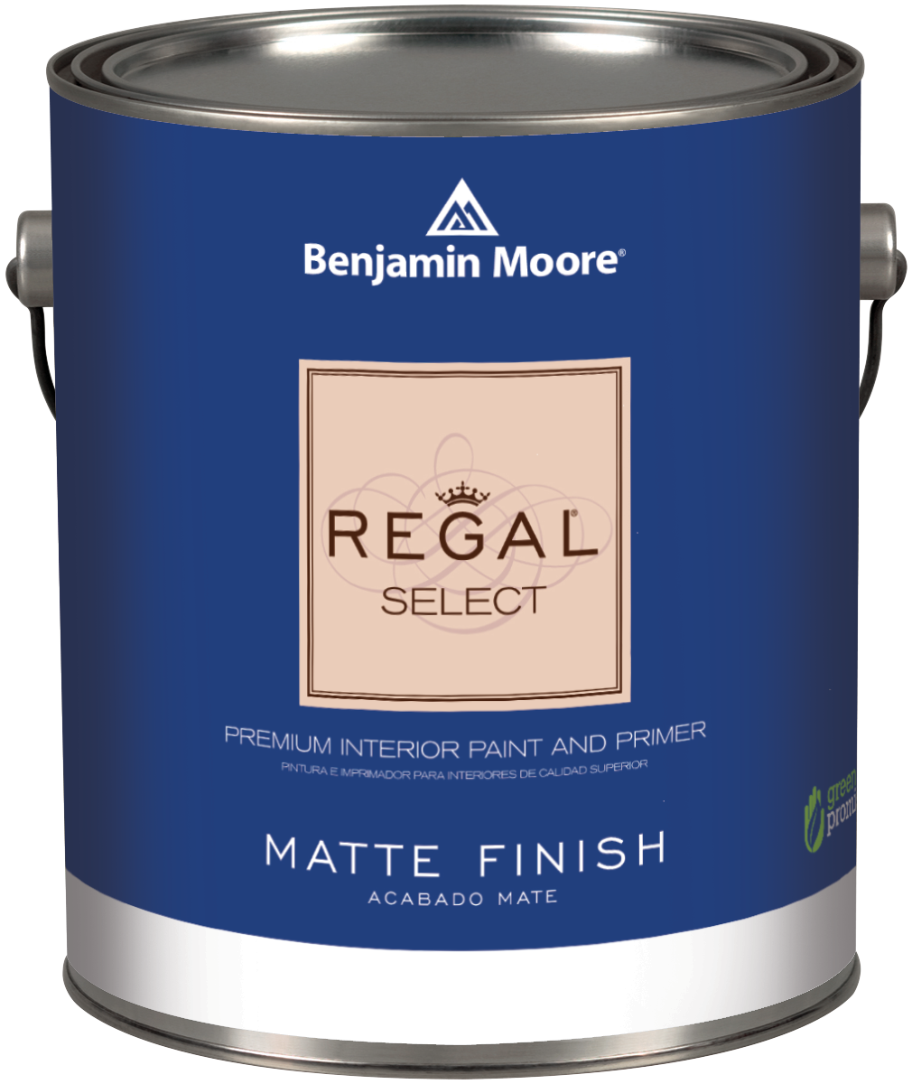 benjamin moore regal select waterborne interior paint | thybony